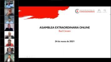 Asamblea General Extraordinaria Online 2021